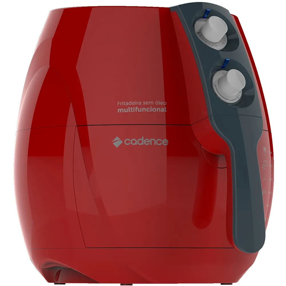 Fritadeira sem Óleo Cadence Perfect Fryer Colors FRT541 1250W 2,3L Vermelho 220V