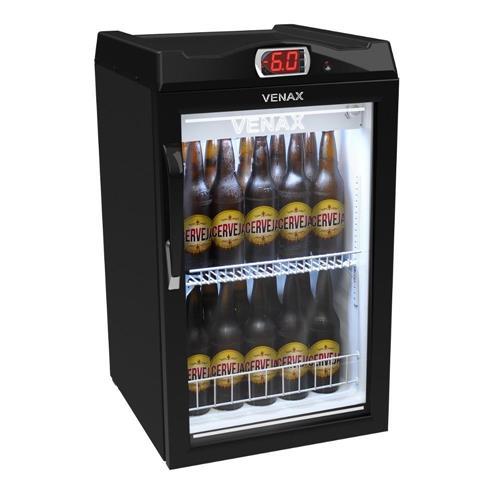 Geladeira/refrigerador 82 Litros 1 Portas Preto - Venax - 220v - Expvq100