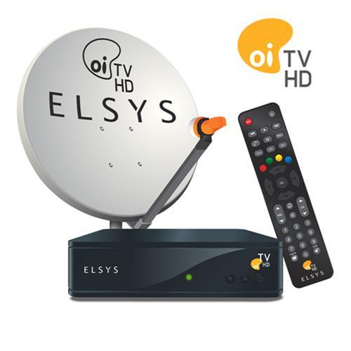 Kit Antena com Receptor Oi TV Livre Sem Mensalidade - Schumann