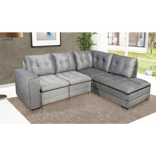 Fine Sofa Retratil Dimercuri Veloster De Canto 3 Lugares Co Machost Co Dining Chair Design Ideas Machostcouk