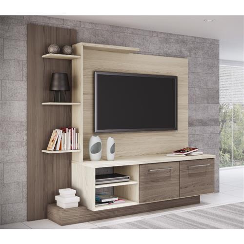 """Estante Home Theater Decibal ES110 para TV de até 52"""" com 2 Portas"""