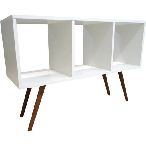 Estante Horizontal 90 cm 0369 Phorman 100% MDF – Branco