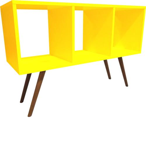 Estante Horizontal 90 cm 0369 Phorman 100% MDF – Amarelo