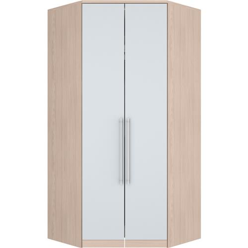 Guarda-Roupa Canto Closet Henn Diamante 2 Portas