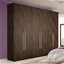 Guarda-Roupa Casal Henn Studio 6 Portas 6 Gavetas