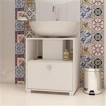 Gabinete para Banheiro BRV com 1 Porta Basculante e Prateleira BBN ...
