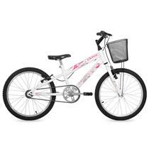 d50d04348 Bicicleta Kiss Free Action Aro 20 Branca