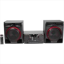 Mini System LG XBoom CK56 Dual USB Antena AM/FM MP3 Karaokê – Bivolt