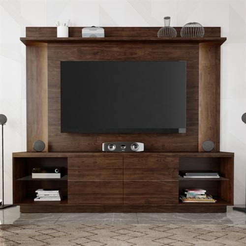 Porta Tv Lumina.Home Theater Caemmun Lumino Para Tv Ate 65 200cm Com Schumann