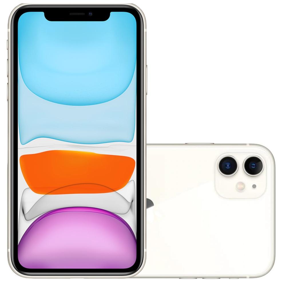 "Smartphone Apple iPhone 11 64GB Tela Retina HD 6.1"" iOS..."