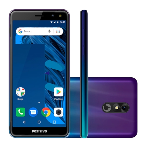 Celular Smartphone Positivo Twist 3 Pro S533 64gb Roxo - Dual Chip