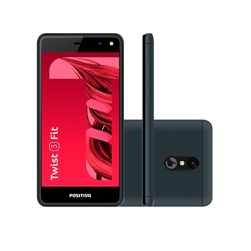 Celular Smartphone Positivo Twist 3 Fit S509c 32gb Cinza - Dual Chip